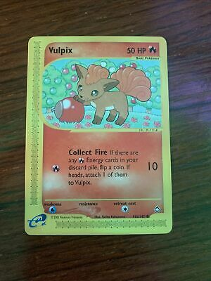 Pokemon Aquapolis Vulpix 116/147. LP.