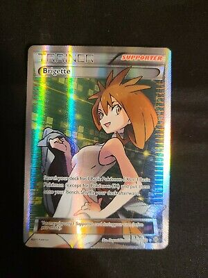 2015 Pokemon XY Breakthrough Brigette 161/162  Holo Supporter NM
