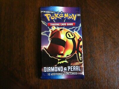 Pokemon Diamond And Pearl Base Set Booster Pack Unweighed, Electivire Art