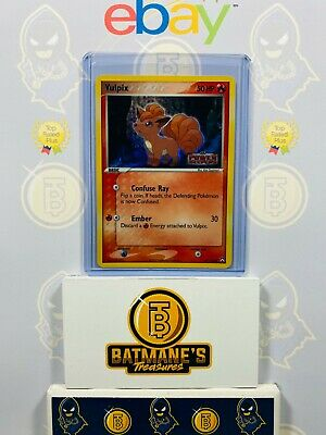 Vulpix 69/108 NM Near Mint EX Power Keepers Holofoil Stamp Holo Pokemon Card