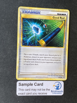 Good Rod 76/95 Trainer | HS: Unleashed | Pokemon Card