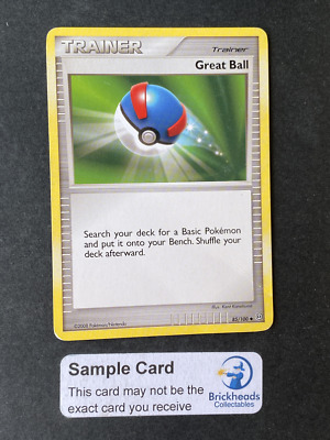Great Ball 85/100 Trainer | DP: Stormfront | Pokemon Card