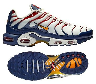 db0dd2bdc034d0 New NIKE Air Max Plus TN Team USA Men s Sneakers white red blue gold all  sizes