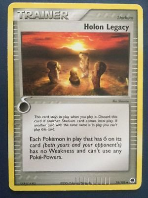 Pokemon HOLON LEGACY 74/101 UNCOMMON NM CARD EX DRAGON FRONTIERS