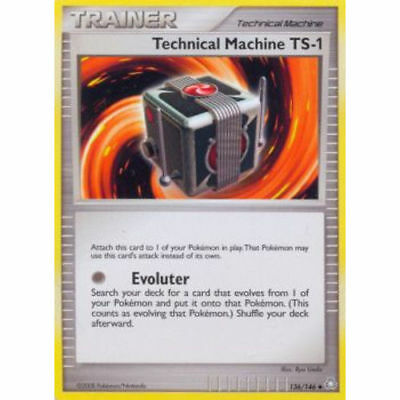Pokemon TRAINER TECHNICAL MACHINE TS-1 136/146 UNCOMMON NM CARD LEGENDS AWAKENED
