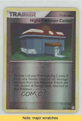 2007 Pokémon - Diamond & Pearl Reverse Foil Night Pokemon Center #108 READ 3d5