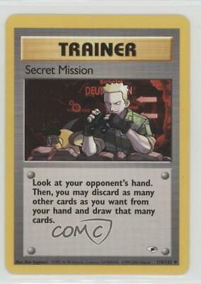 1999 Pokemon Gym Heroes Unlimited Secret Mission #118 2f4