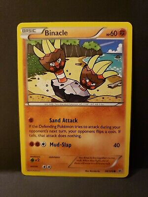 Pokemon Roaring Skies Binacle Single Card Common