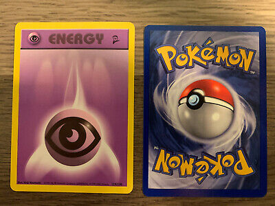 129/130 Psychic Energy - Base Set 2 - Common Pokemon TCG Card Never Played