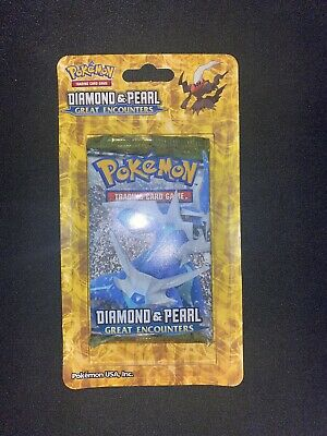 Pokemon Diamond and Pearl Great Encounters Blisters Pack Factory Sealed DIALGA
