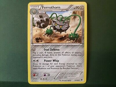 Pokemon Emerging Powers Ferrothorn Single Card Uncommon