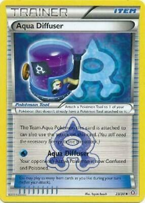 Pokemon TRAINER AQUA DIFFUSER 23/34 UNCOMMON NM CARD  DOUBLE CRISIS