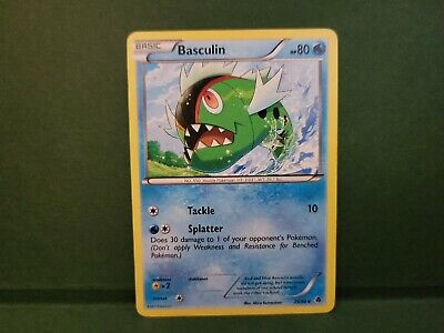 Pokemon Emerging Powers Basculin Single Card Uncommon