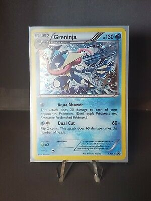 Pokemon Greninja Xy162 Xy Series Black Star Holo Promo Near Mint Rare