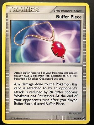 Carte Pokemon BUFFER PIECE 84/99 UNCO Platine ARCEUS English NEUF
