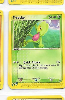 TREECKO - 80/97 – Pokemon – Ex Dragon - NM = Buy more cards & save!