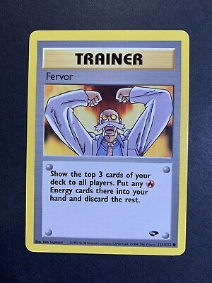FERVOR - Gym Challenge - 124/132 - Common - Trainer - Pokemon Card - NM/Mint