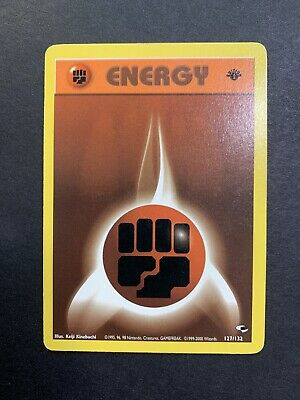 FIGHTING ENERGY - 1st Edition Gym Heroes  - 127/132 - Energy - Pokemon - NM/M