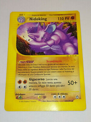 Nidoking - 24/147 - Aquapolis - Ita - Pokemon