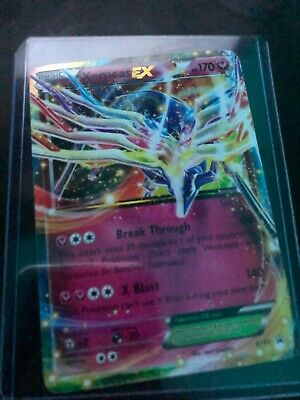 Xerneas EX XY07 Pokemon Card