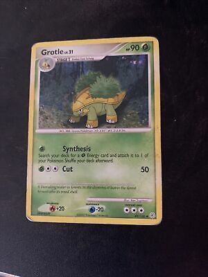Grotle 49/130 Uncommon Diamond & Pearl Pokemon Card NM/M