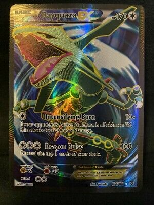 Pokemon TCG | Rayquaza EX (Full Art) | Roaring Skies 104/108 | NM-M