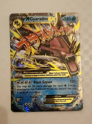 M Gyarados EX - 27/122 BREAKPOINT - Ultra Rare Holo Pokemon Card
