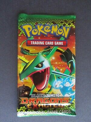Pokemon TCG - Sealed Dragons Exalted Booster Pack - Rayquaza Artwork