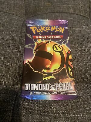 Pokemon Sealed Diamond And Pearl Base Set Booster Pack - Electivire