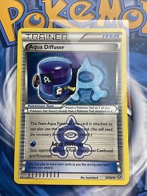TRAINER AQUA DIFFUSER 23/34 Pokemon Card Lightly Played/NM CARD DOUBLE CRISIS