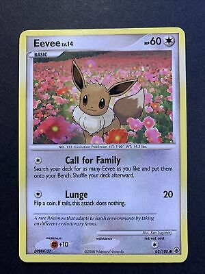Pokemon Card: Majestic Dawn Eevee 62/100 NM
