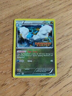 Altaria - Staff Pre Release Stamped Promo - Bw48 - Dragons Exalted - Pokemon