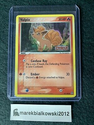 Vulpix Pokemon Card 69/108 EX Power Keepers Stamp Reverse Holo