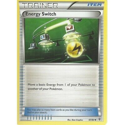 Energy Switch Non Holo 61/83 Generations Trainer Pokemon Card M/NM