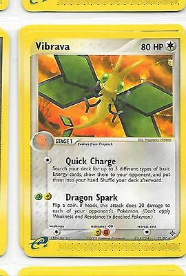 VIBRAVA - 22/97 – Pokemon – Ex Dragon - NM = Buy more cards and save!