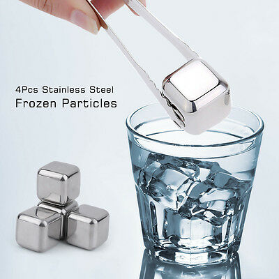Разное 1/4Pcs Stainless Steel Cooling Particles