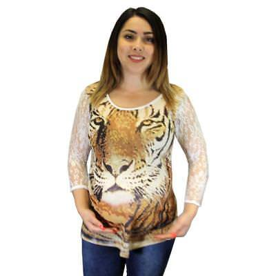 Футболка Maternity T Shirt with Tiger