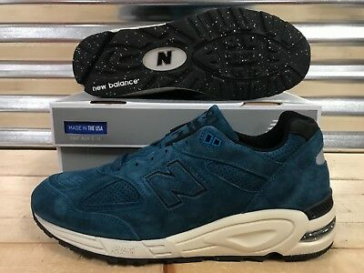 best website d3533 0fceb New Balance 990 Color Spectrum North Sea Blue Suede Made In USA SZ (  M990CR2 )
