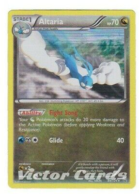 Pokemon Altaria - 84/124 - Holo - Dragons Exalted - LP