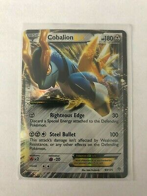 Cobalion EX 93/135 MINT/NM Pokemon Card Plasma Storm