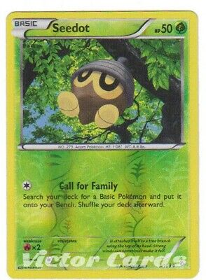 Pokemon Seedot - 5/106 - Reverse Holo - Flashfire - LP