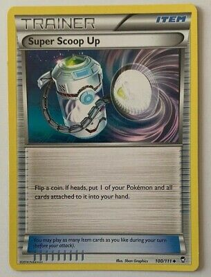 Super Scoop Up 100/111 Uncommon Furious Fists 2014 Pokemon Nm/m
