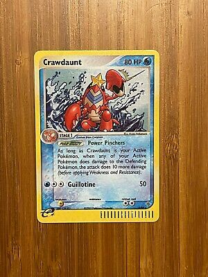 Crawdaunt EX Dragon (3/97) Rare Holo Pokemon Card Lightly Played