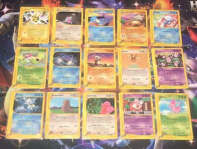 /147 AQUAPOLIS E-SERIES WOTC ~ SINGLE INDIVIDUAL CARDS ~ UNLIMTED ~ Pokemon