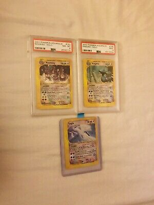 Pokemon TCG - Crystal Lugia/Nidoking/Kingdra Holo - PSA 7/8/9? - 2003 AQUAPOLIS