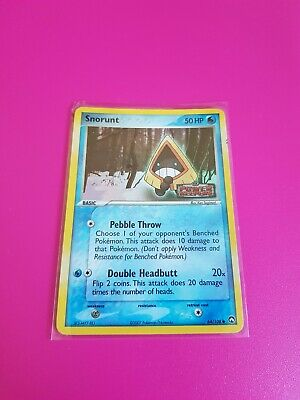 Pokemon Snorunt Reverse Holo Ex Power Keepers 64/108 Lightly Played - Excellent