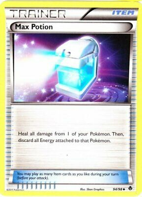1x - Max Potion - 94/98 - Uncommon NM Pokemon Emerging Powers