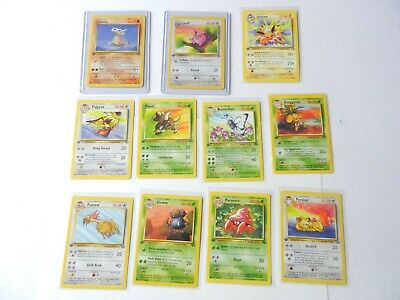 Pokemon Cards First 1st Edition Jungle Set Non Holo Jigglypuff Never Played New