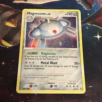Magnezone ~ 8/130 ~ Holo ~ DIAMOND AND PEARL ~ MODERATE PLAY ~ Pokemon Card