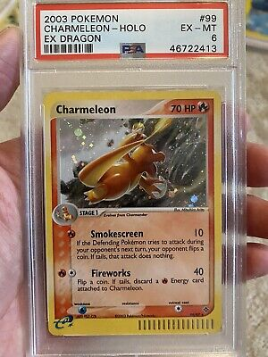 2003 Pokemon EX Dragon Charmeleon Holo 99/97 PSA 6 EX / Mint 🔥